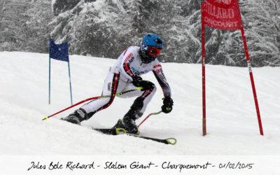 Slalom Géant – Charquemont – 2015