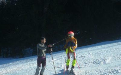 Grand Prix des Rousses, Slalom à la Serra Julien German termine premier Master