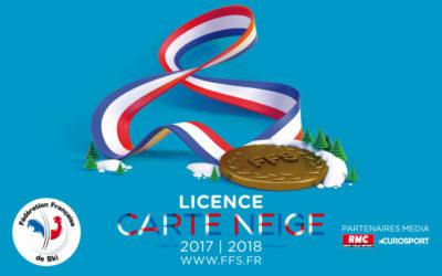 Licence compétition saison 2018-2019