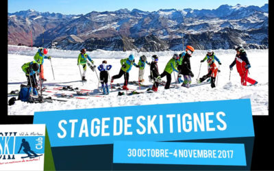 Stages à Tignes (2017)