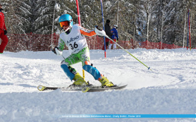 Course Slalom – Bellefontaine – Février 2018