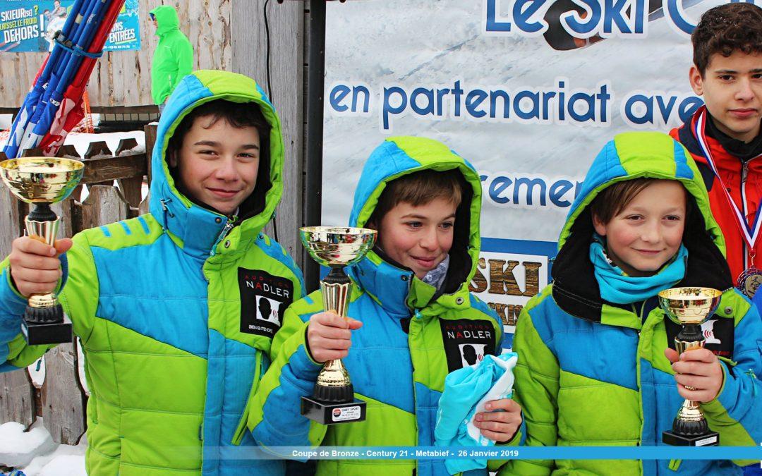 Coupe de Bronze – Century 21 – Métabief : 9 podiums!
